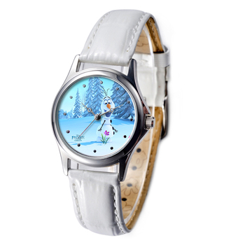 lady scarf new style Frozen china cheap watches