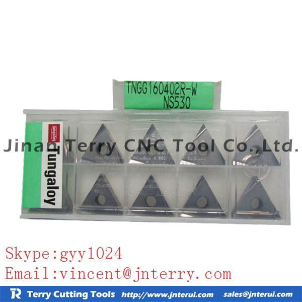 Good price cutting tools in high quality for milling cutting tool and carbide end mill TUNGALOY TNGG160402R-W NS530