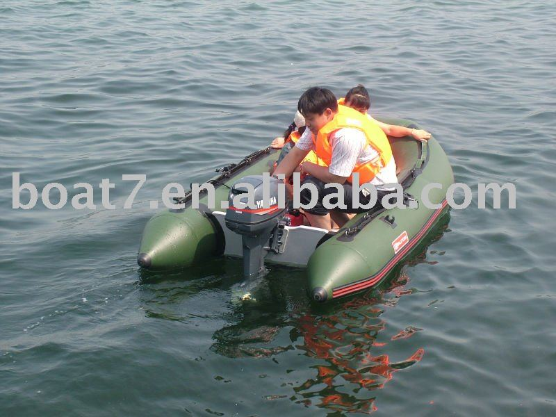 Inflatable fishing boat Model D with CE