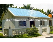 2012 new design prefabricated light steel house