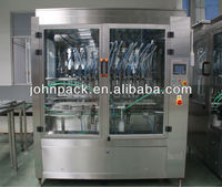 filling machine for foamy liquid