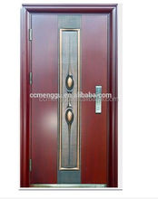 Main Entrance Exterior Cheap Steel Security Door Design
