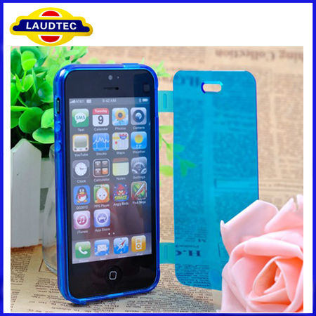 New Product for Apple Iphone5 Case TPU Dirt-Resistant Flip Cell Phone Cover for Iphone 5 Alibaba China Made in China, Laudtec