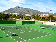 Water- Resistance & Anti - Slip Acrylic Liquid Cover For Tennis Court Coating