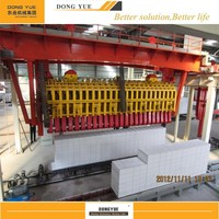 Dongyue 50000-300000m3 aac blocks manufacturing process