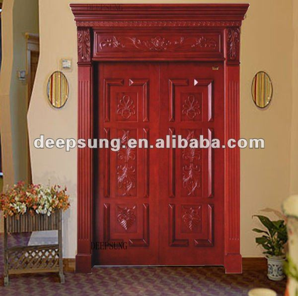 2013 high quality new style solid wood door