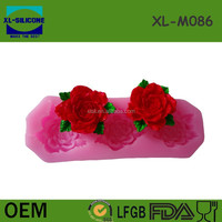 Silicone 3 Size Rose Flower Cake Mold Craft Fondant Chocolate DIY Craft Decorating