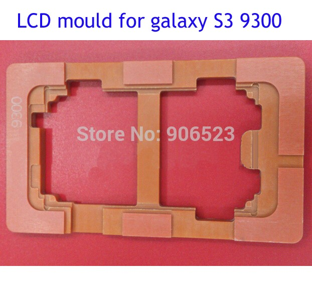 New LCD Mould Touch Screen Mold Glass Holder for Sumsung Galaxy S3 9300 Refurbish Repair tool