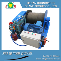 Three phase ac motor totally enclosed fan cooling cheap electric winch
