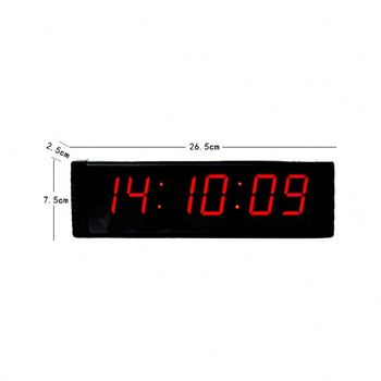 "[Ganxin] 1.5"" New Design Smart Alarm Clock Running Gun With Low Price"
