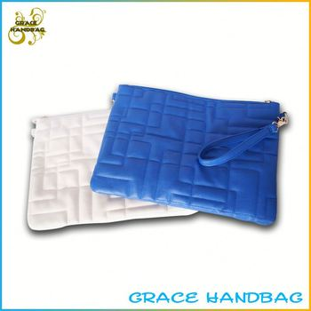 leather Synthetic leather pu clutch bags sale