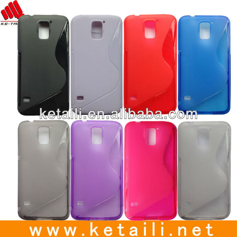 Colourful TPU Mobile Phone Case Cover For Galaxy S5