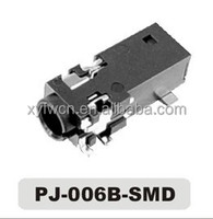 factory price phone 3.5mm jack 6 pin smd / 3.5mm 4 pole sockets / jack 3.5 smd