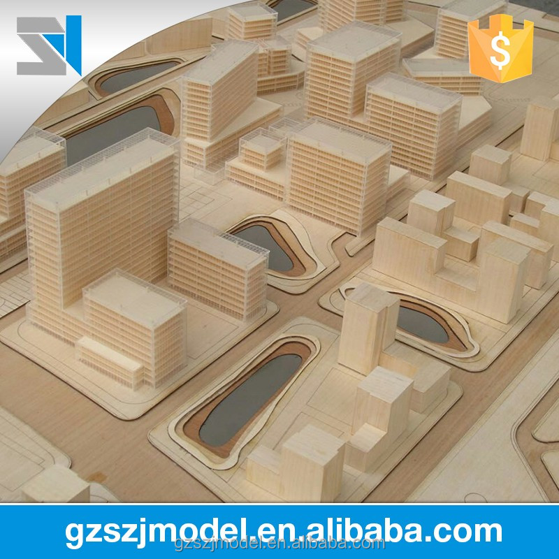 Construction & real estate ,3d rendering architectural model
