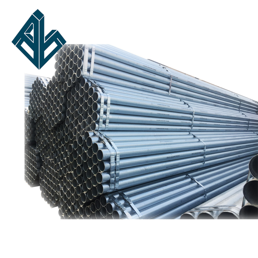<strong>Trade</strong> Assurance Round Pre galvanized steel pipe Q235/BS1387