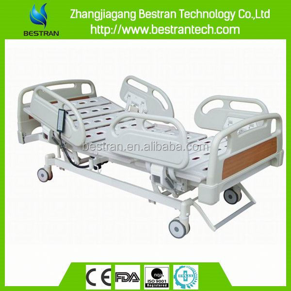 BT-AE009 China Factory sale five functions central locked electric massage bed with remote control