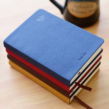 Hardcover printed pu custom notebook