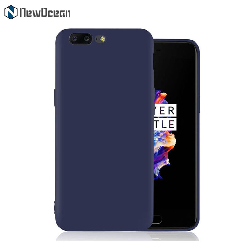 For One Plus 5 Matte TPU Soft cover silicone Slim cell phone case cover for OnePlus 5