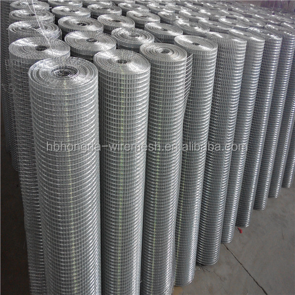 Welded mesh for fence in panel or roll buy wire