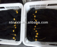 virgin single drawn human hair export to Brazil in large quantity