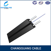 High quality single mode 2 core butterfly drop covered optic cable