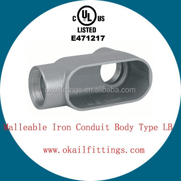 Electrical Malleable Iron Rigid Conduit Box Water Proof