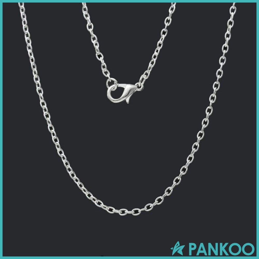 Wholesale Jewelry Necklace 925 Sterling Silver Round Cable Chain