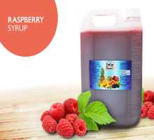 Raspberry Concentrated Syrup Fruit Juice