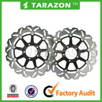 TARAZON brand top sale floating wave brake rotor for motorcycle