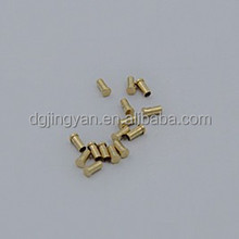 High precision magetic phone brass pogo 3 pin connector