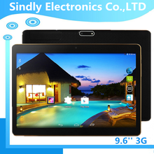 1280*800 IPS screen 9.6 inch Quad Core 3G/4G android tablet