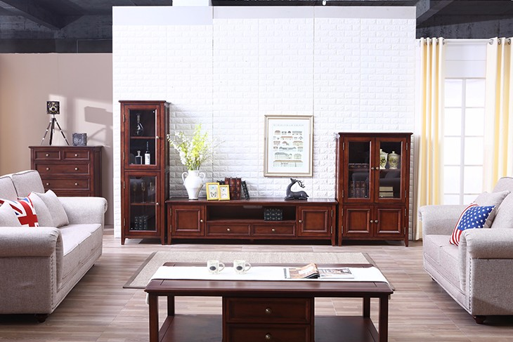 Classic Wood Cabinets Living Room Furniture TV Chest Stand