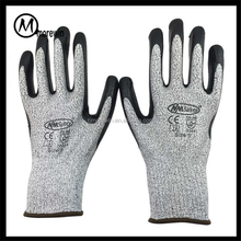 Morewin Brand Cut Resistant Work Glove Labor Protection Glove HPPE Anti Cut Safety Glove