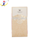 Customized Logo/Shape Recyclable Wedding Invitation Card Luxury Paper Cards Wholesale ISO9001:2008