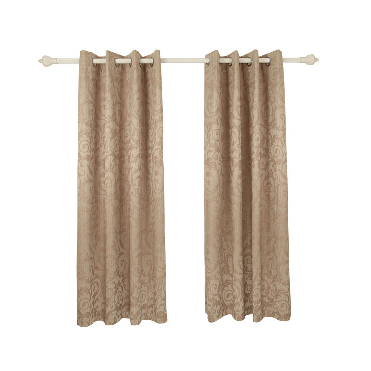 New style modern polyester fancy window blackout curtain living room