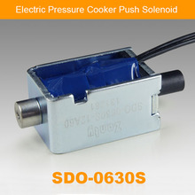 Electric Pressure Cooker Linear Push Solenoid SDO-0630S