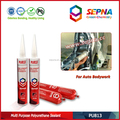 High Performance PU Adhesive for Windscreen Windshield and Side Glass Sealing of Cars, Buses