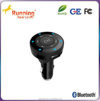 bluetooth USB car charger fm transmitter for mp3 mp4 mobile phone