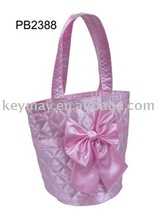 Fashion Satin Cute kid bags dance bags children dance bags for promotion