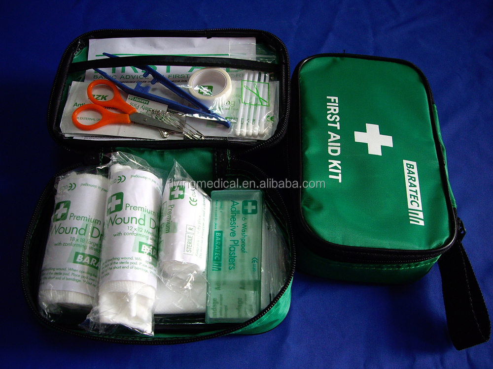 First Aid Kit Emergency Response Bag Complete