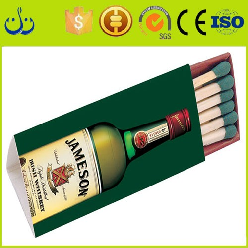 best quality Europe Popular Magic colorful Matches Boxes Manufactures Paper Tube For Matchbox With Wooden