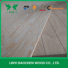 Russia pine grooved plywood grooved wall panels slot plywood ,Russia Larch Grooved Plywood