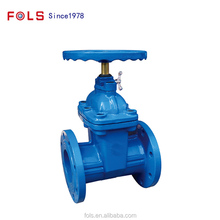 Flange structure elastic NBR seat seal gate valve DN250