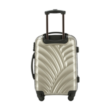 2017 beautiful carry-on removable 360-degree wheels luggage with scale