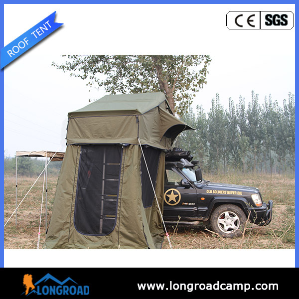 Camping Outdoor Mobile Home/House Canvas Roof Top Tent For Sale