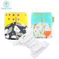happyflute Factory supply cheap cloth diaper sleepy baby nappy custom private print