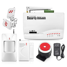 New Arrival GSM Alarm Security System Support SMS with Auto-dial 3 Mobile Phone 12 Wireless 2 Wired 1 External Zone PY-GSM10