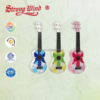 "High Quality Wholesale Soprano 21"" Ukulele Hawaii Cartoon Mini Guitar"