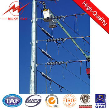 galvanized pole electric tower structure