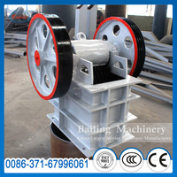 China new arrival High crushing ratio and even granularity mini mobile stone jaw crusher